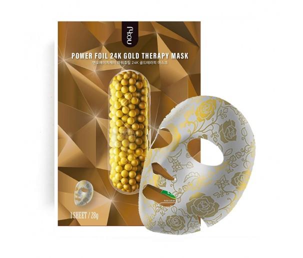 Маска для лица NOHJ Power Foil 24K Gold Moisturising
