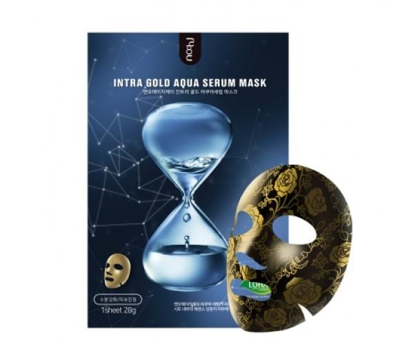 Маска для лица Intra Gold Aqua Serum Mask 28g